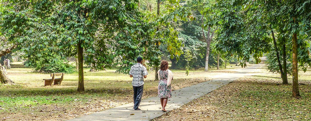 Jardin Botanique de Limbe au Cameroun