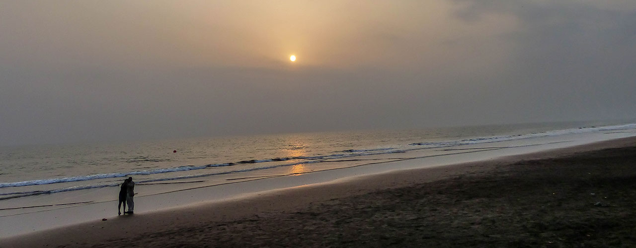 La plage de Limbe au Cameroun