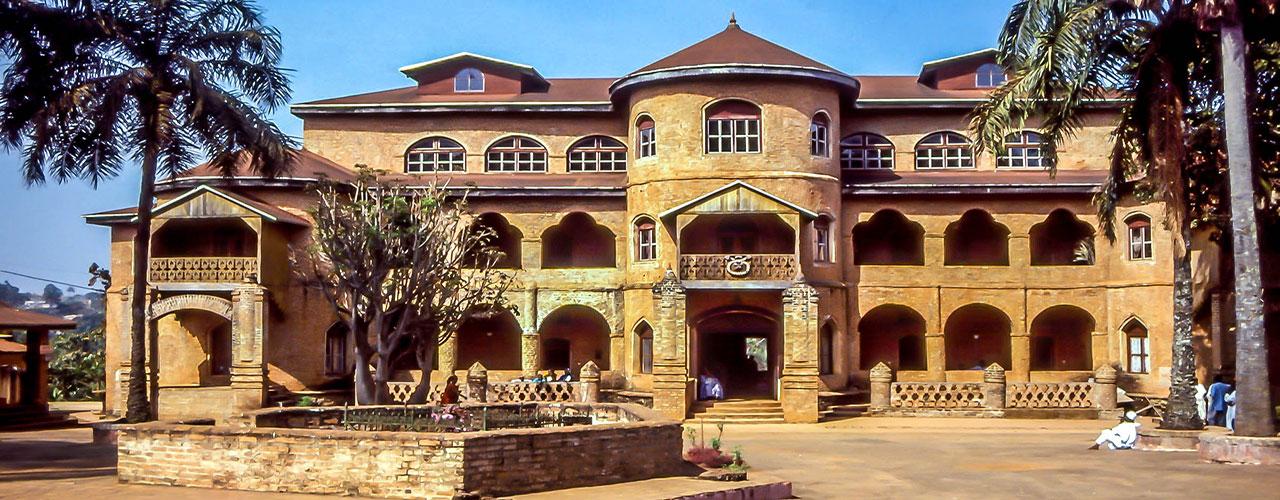 Le Palais du sultan de Foumban au Cameroun