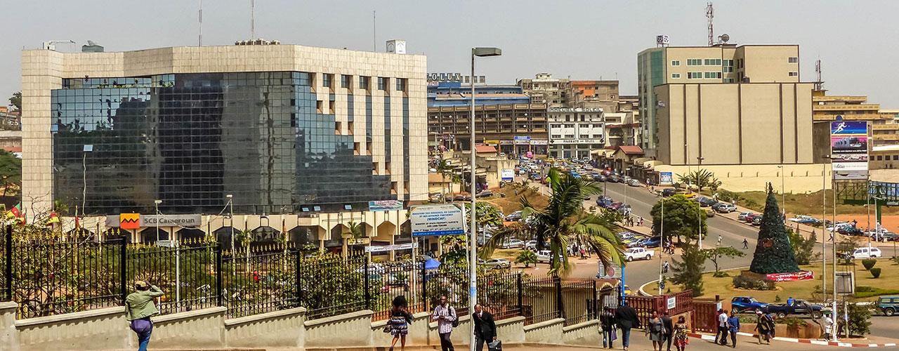 Rue de Yaounde au Cameroun