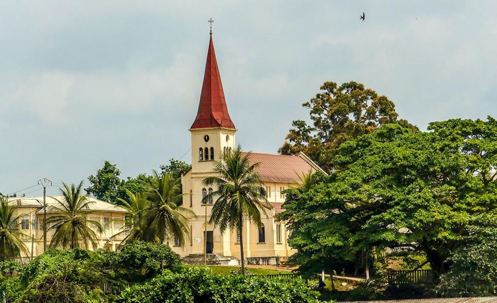 Eglise de Kribi