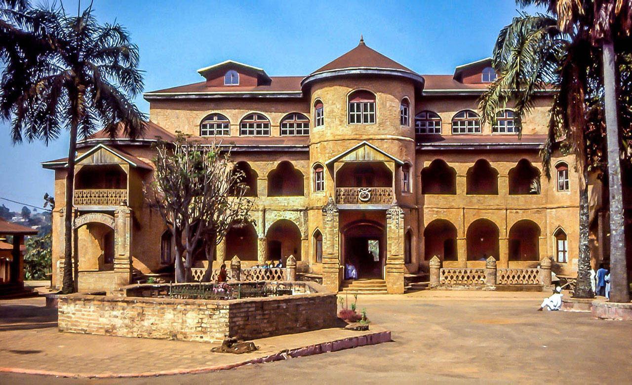Le palais de Foumban