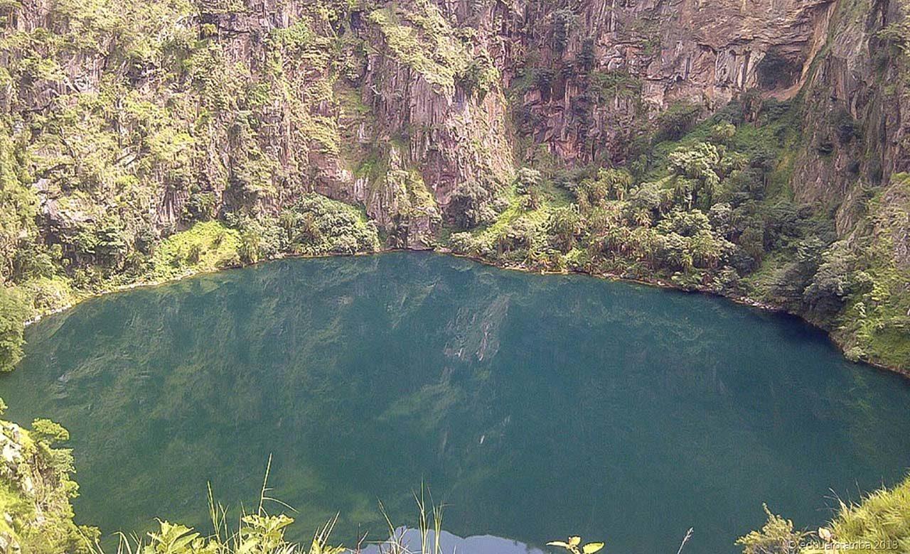 Mont Mbapit lac mbapit