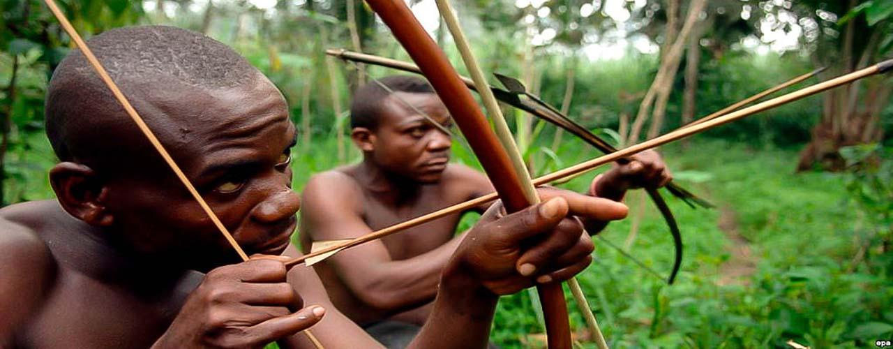 Les pygmées au Cameroun