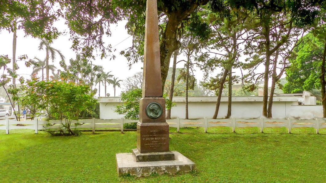 Memorial de Gustav Nachtigal